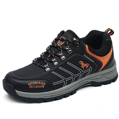 HOMASS Men Casual Water Hiking Outdoor Climbing Breathable Shoes
