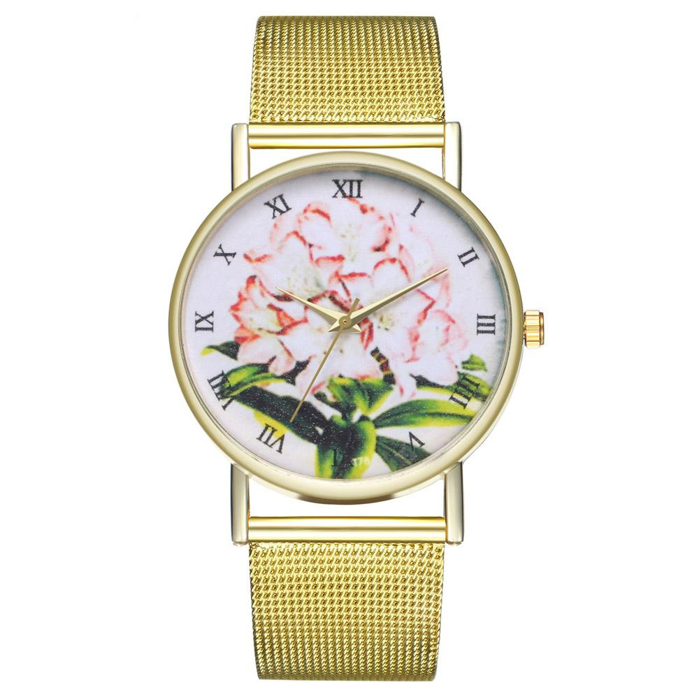 Zhou Lianfa Stylish Cartoon Lilies Watch