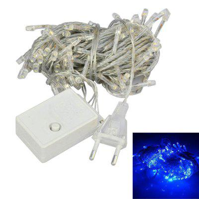 Jiawen 10M Flash 100-LEDS Rgb Light Christmas Led Lámpara de luz de tira Eu 220V