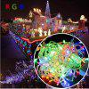 Jiawen 10M Flash 100-LEDS Rgb Light Christmas Led Strip Light Lamp Eu 220V - RGB COLOR