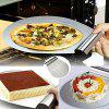 Stainless Steel Transfer Cake Tray Scoop Moving Plate Bread Pizza Blade Shovel - STAINLESS STEEL