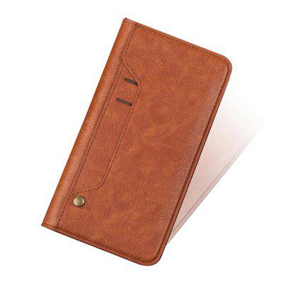 Cover Case For iphone X PU Leather Rotate Card Shatter-Resistant Shell 3d pen holder dock shatter resistant