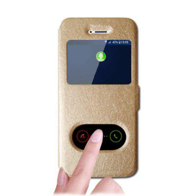 Cover Case For Iphone X PU Leather Shatter-Resistant Shell with Bracket