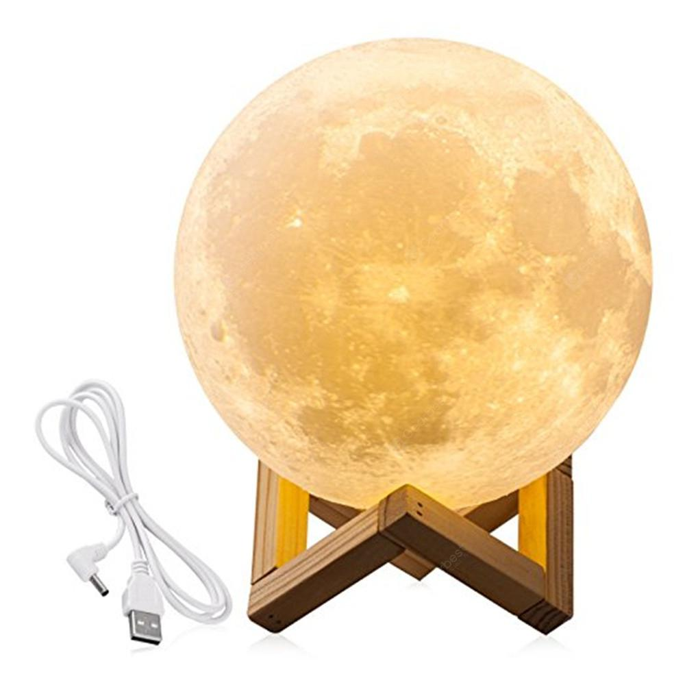 Moon Light 3d Led Printing Moon Lamp With Usb Touch