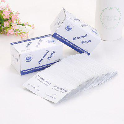 Alcohol médico Cellucotton Pad 100PCS
