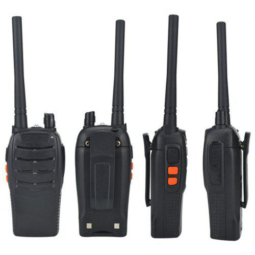 208ad4ed4cb Rechargeable Long Range Two-way Radios with Earpiece UHF 400-470Mhz Walkie  Talkies