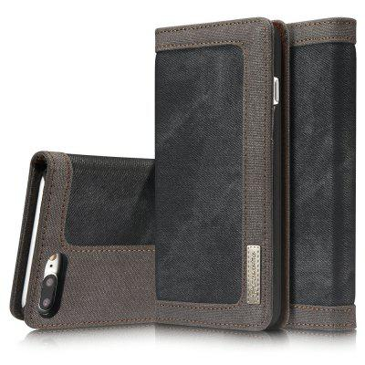 CaseMe 006 for iPhone 7 Plus/ 8 Plus Jeans Leather Flip Case Magnetic Closure Slim Cover with Kickstand Function free shipping new 10 1 original stand magnetic leather case cover for lenovo ibm thinkpad 10 tablet pc with sleep function