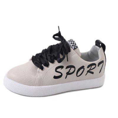New Fashion Trend étudiants cravate chaussures de sport Low-Top