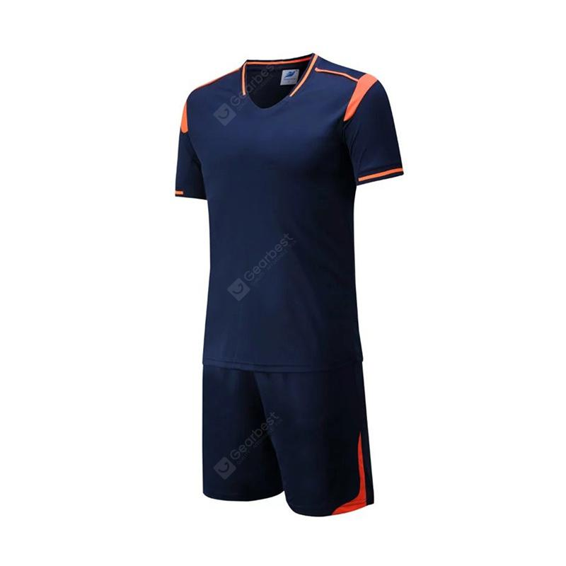 Men's Breathable Simple Style Sports Set