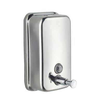 500ml Mounted Stainless Steel Manual Wall Mount Soap Dispenser for on stainless steel wrap dispenser, stainless steel hair dryer holder, stainless steel coffee dispenser, stainless steel stereo, stainless steel glove dispenser, stainless steel bread, stainless steel stain removal products, stainless steel tissue cover, stainless steel hand sanitizer dispenser, stainless steel bathroom hooks, stainless steel massager, stainless steel mixing valve, stainless steel air curtains, stainless steel tape dispenser, stainless steel water cooler walmart, stainless steel lotion bottle, stainless steel salt, stainless steel soap bar, stainless steel water dispenser, stainless steel shower curtain,