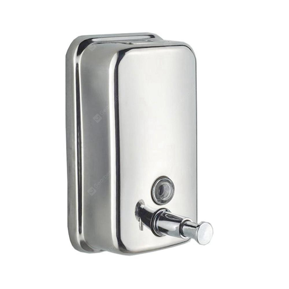 500ml Mounted Stainless Steel Manual Wall Mount Soap Dispenser for ...