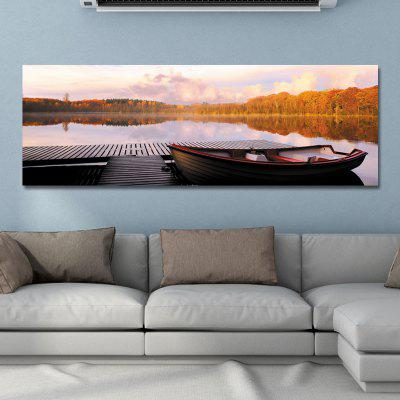DYC 10925 Photography The Landscape of The Golden Lake Print Art