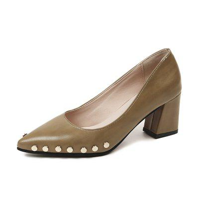 Shallow Mouth Nail All-match High Heels Shoes