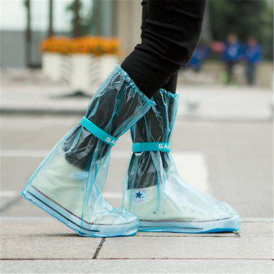 Outdoor Waterproof Reusable Fashion Rain Coat Shoe Boots Cover Overshoes
