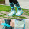 Outdoor Waterproof Reusable Fashion Rain Coat Shoe Boots Cover Overshoes - LIGHT BLUE