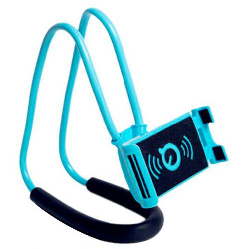 b0a74b2a7cb Hang Neck Phone Holder 360 Degree Rotation Mobile Stand Lazy Bendable  Flexible