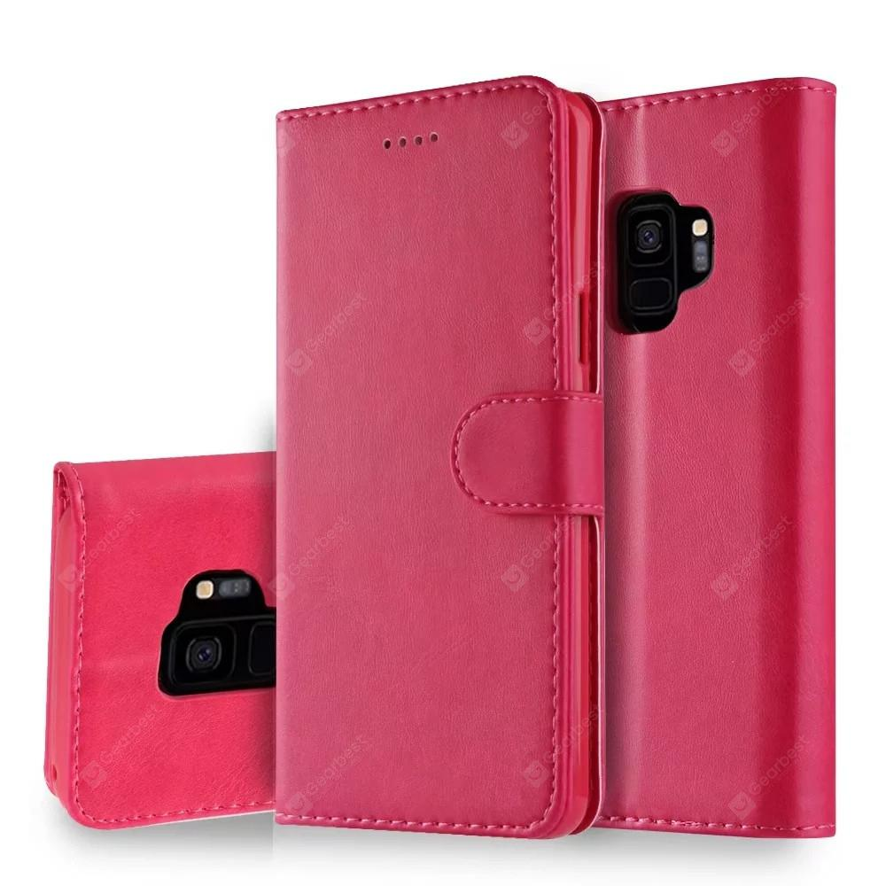 Cover Case for Samsung Galaxy S9 Plus Mobile Phone Accessories Flip Synthetic PU Leather