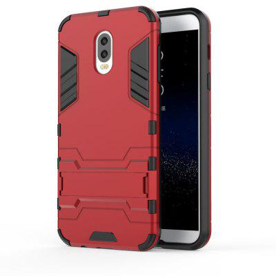 Armor Case For Samsung Galaxy C8 / J7 Plus Silicon Back Shockproof Protection Cover