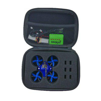 Waterproof Case Quad Box with Foam Liner  for Inductrix FPV Micro Quadcopter JJRC H36 / Eachine E010 / Blade Inductrix