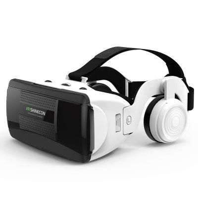 SHINECON New 3D Virtual Reality VR Glasses Come with HiFi Headphone
