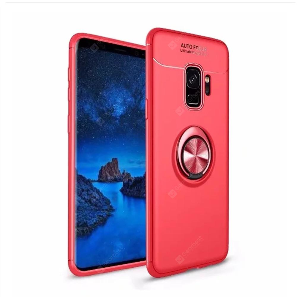Cover Case for Samsung Galaxy S9 Ring stealth Kickstand - 360 Degree Rotating Ring Grip Finger Loop