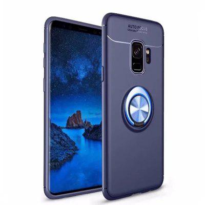 Cover Case for Samsung Galaxy S9 Plus Stealth Ring Stealth Kickstand - 360 Degree Rotating Ring Grip Finger Loop