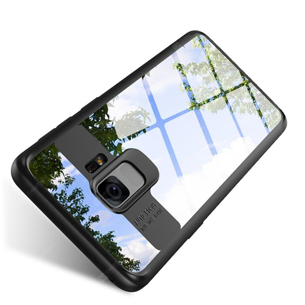 Luxury Cover Case for Samsung Galaxy S9 Transparent PC and TPU Slim Phone
