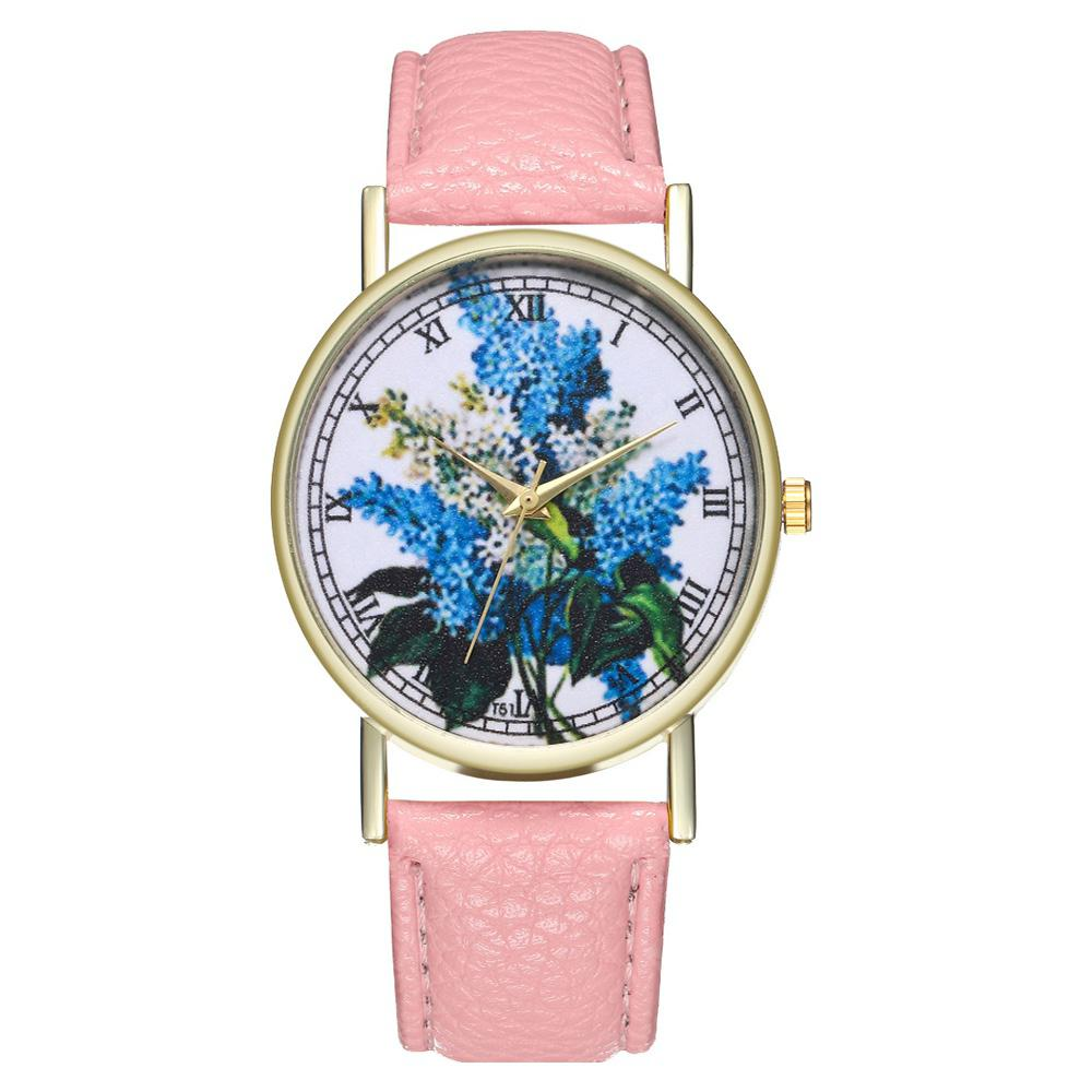 Zhou Lianfa Brand Fashionable Lilac Ladies  Watch