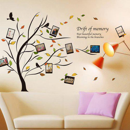 Art Photo Frame Tree Wall Sticker 1056 Free Shippinggearbestcom
