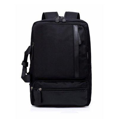 External USB Charge Messenger Patchwork Men Crossbody Bag Large Capacity Casual Travel Man