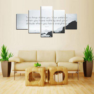 MailingArt FIV615  5 Panels Moto Wall Art Painting Home Decor Canvas Print