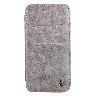 For iphone7 / 8 Vintage Wallet Genuine Leather Case Flip Book Phone Bag Cover with Card Holder brand passport women wallets case travel leather wallet female key coin purse wallet women card holder wristlet money bag small