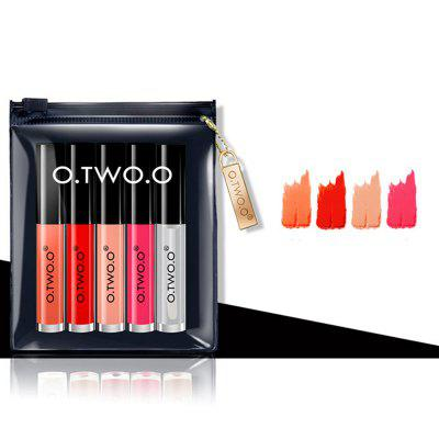 OTWOO Long Lasting Waterproof Soft Texture Lip Gloss Plus Lip Oil Cosmetics Suit