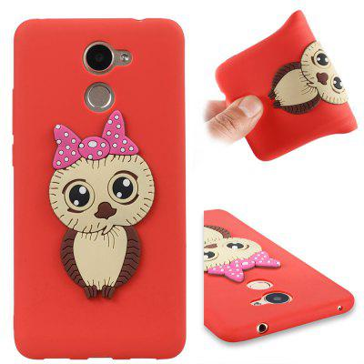 Case for Huawei Enjoy 7 Plus Owl Soft Shell