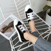 New Fashion Joker Breathable Leisure Canvas Shoes - BLACK