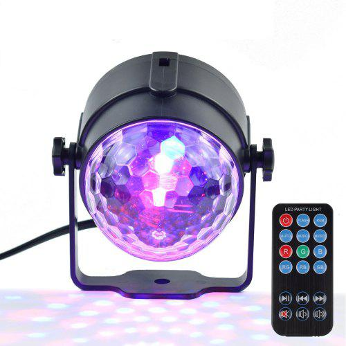 Exiao LED USB Mini Voice Activated Crystal Magic Ball Led Stage Disco Ball Projector Party Lights Flash DJ Lights