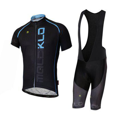 Malciklo A-QDN0318106 Summer Men Cycling Jersey Bib Tights Short Rompers Bike Compression Suits