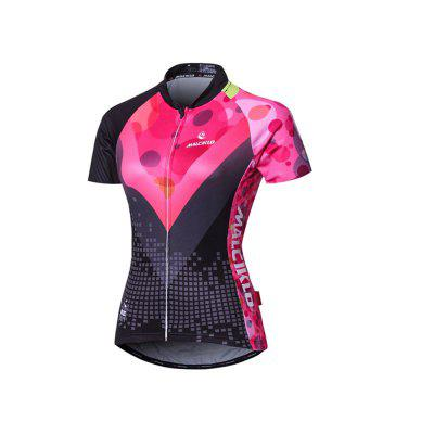 MLCIKLO Cycling Jerseys Breathable Quick Dry T-shirt for Men and Women Outdoor Sports Running