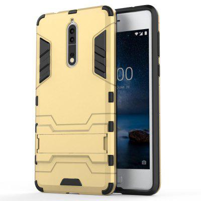 Armor Case for Nokia 8 Silicon Back Shockproof Protection Cover hybrid rugged armor shockproof tpu cover case for iphone 7