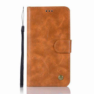 Leather Flip Wallet Case for Lenovo P2 Holer Phone Shell with Lanyard