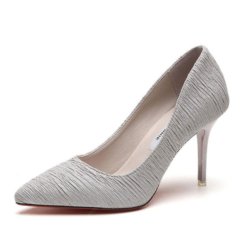 Spring and Summer New Pointed Stiletto Heels
