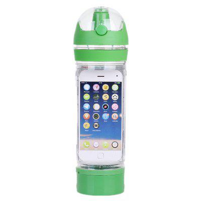 480ML Outdoor Recreational Multi-Functional Plastic Water Cup for Mobile Phone