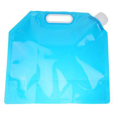 Folding Water Bag Canister PE Tasteless Safety Seal Lightweight Drinking Storage for Camping Hiking Picnic
