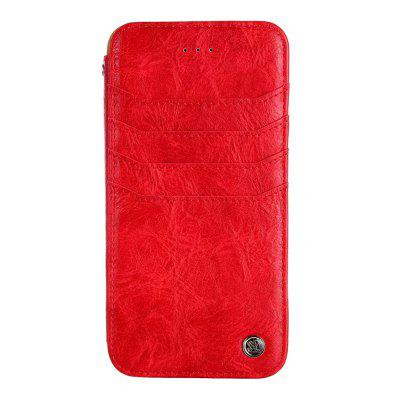 for iPhone 7 Plus/8 Plus Case Slim Fit Premium Leather Wallet Card Slots Shockproof Flip Protective wkae forest series colorful paiting litchi texture premium pu leather horizontal flip stand wallet case cover with card slots for iphone 7 plus and 8 plus