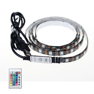 KWB 5V LED Strip Light 5050 RGB waterdicht met 24 toetsenbordafstandsbediening