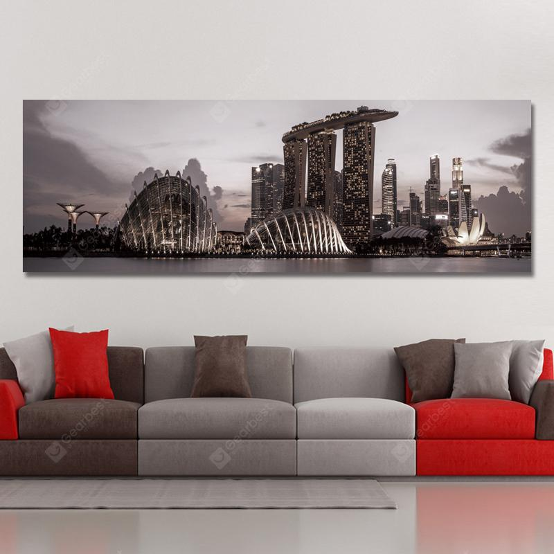 DYC 10969 Photography Architectural Landscape in Busy Cities Print Art