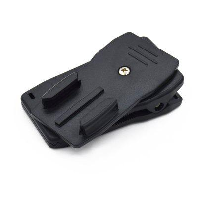 360 Degree Rotatable Quick Clip Mount for GoPro/XiaoYi/SJ Camera Accessories