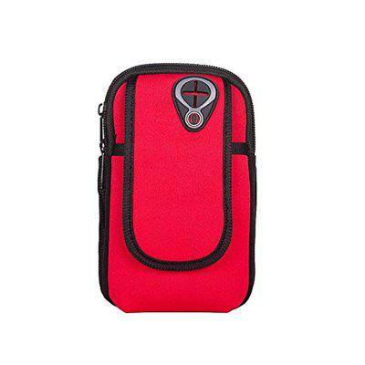 Outdoor Cycling Sport Running Wrist Pouch Mobile Cellphone Bag Arm Package