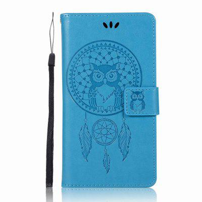 Owl for Lenovo K6 Note Leather Mobile Shell Flip Cover Wallet Phone Case mercury goospery milano diary wallet leather mobile case for iphone 7 plus 5 5 grey