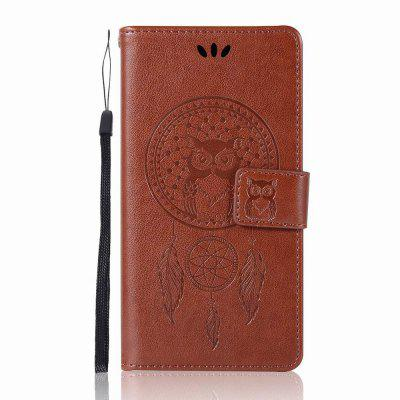 Owl for Lenovo Leather A6000 Mobile Shell Flip Cover Wallet Phone Case mercury goospery milano diary wallet leather mobile case for iphone 7 plus 5 5 grey